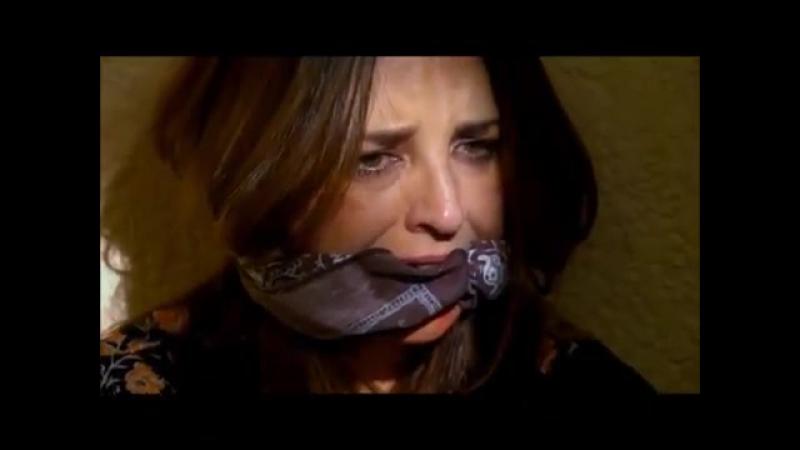 Claudia Ramírez bound gagged lo imperdonable