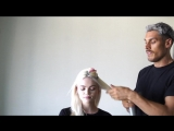 Hairstylist Chris Appleton Shows How to Get an -Undone- Wave
