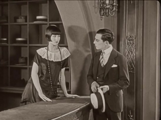 Buster Keaton gets rejected by a hatcheck girl without a word being spoken in Seven Chances (1925)