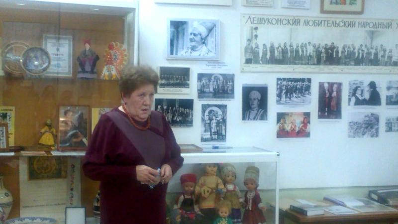 О своей маме П П Масленниковой рассказывает Надежда Кирилловна Патракова Вечер к юбилею основательницы Лешуконского хора