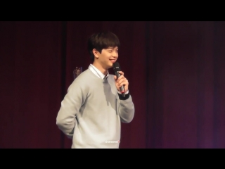 [FANCAM] 11.02.2018: Сончжэ - Game Segment (Dating with Melody) @ Solo Fan Meeting in Taiwan