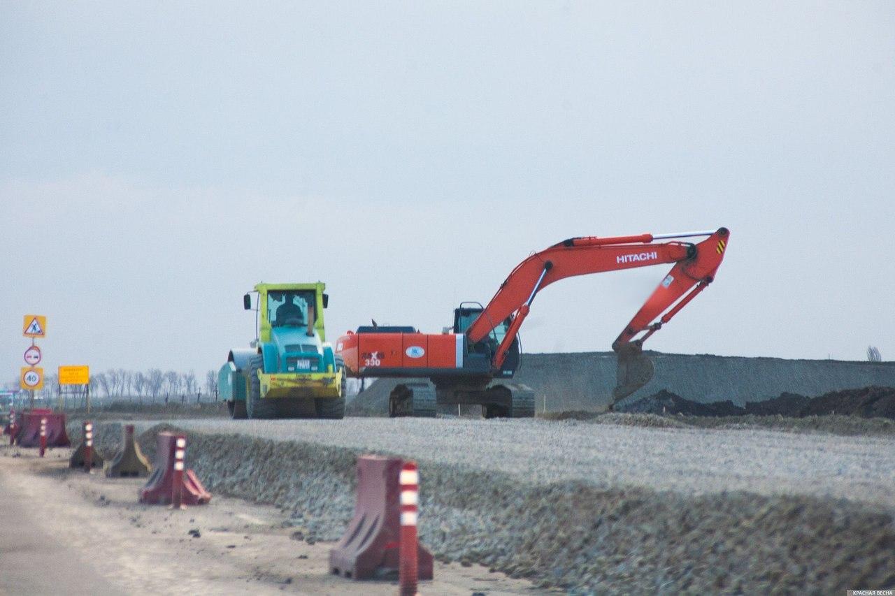 Строительство моста в Крым на финишной прямой