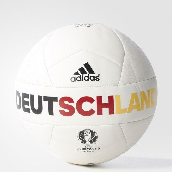 Футбольный мяч (подарочный)  EURO16OLP GER M