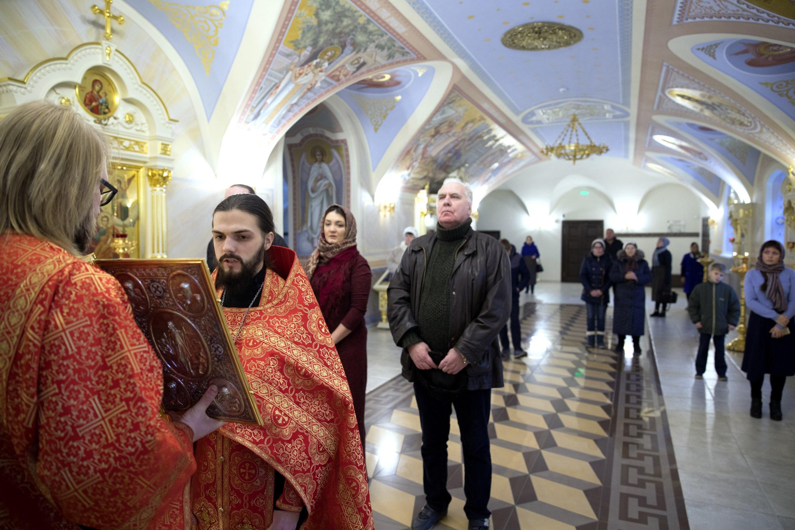 В Духосошественском храме почтили память святителя Иоасафа (Удалова), епископа Чистопольского