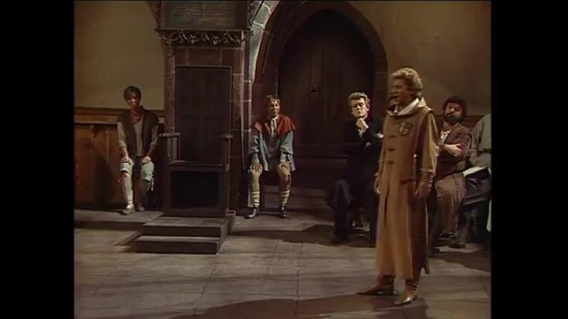 Richard Wagner. Die Meistersinger von Nürnberg. Akt 1-2 (Bayreuther Festspiele, 1984)
