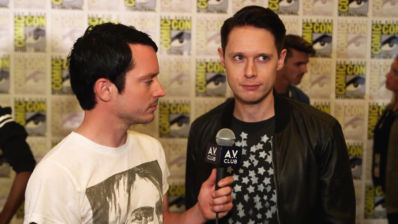 The cast of Dirk Gently debates whether or not things happen for a reason