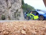 WRC Subaru Impreza WRX STI на волосинке от АВАРИИ