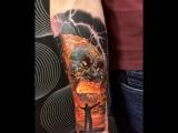 Vulkan tattoo Salah