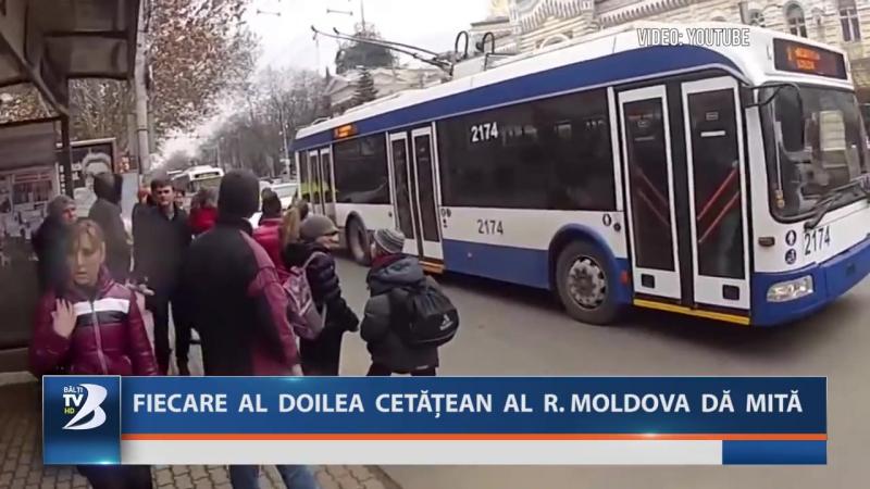 FIECARE AL DOILEA CETĂȚEAN AL R. MOLDOVA DĂ MITĂ