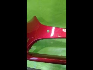 Бампер передний мазда 6 GJ 2016-рестайлинг
