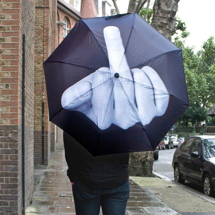 Прикольный зонт