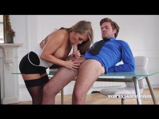 Alessandra jane blonde secretary fucks the boss on her first day [all sex,big tits,blowjob,new porn 2017]