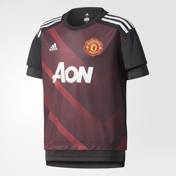 Предматчевая футболка Манчестер Юнайтед Home Authentic