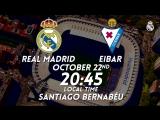PREVIEW | Real Madrid vs Eibar