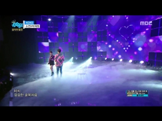 So Yeon & Jae Jung Parc - Xoxo @ Music Core 180106