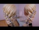 Коса с Онлайн курса Косы с лентами. Школа Плетения кос Александровой Эльвиры.