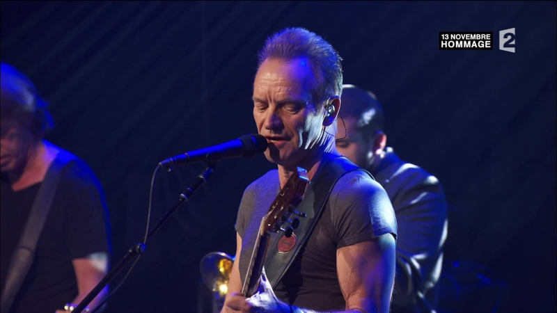 Sting Fragile Live2016