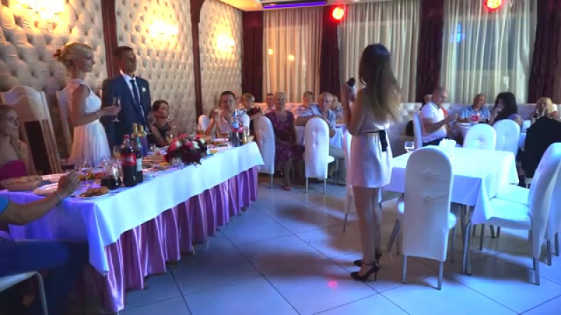 Песня подруге на свадьбу _ Ане и Витьку от Маши