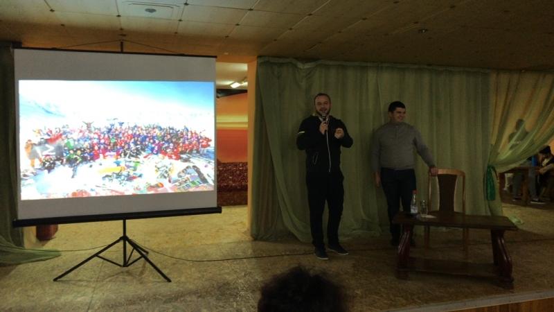 Встреча с главой минтуризма КЧР Анзором Эркеновым