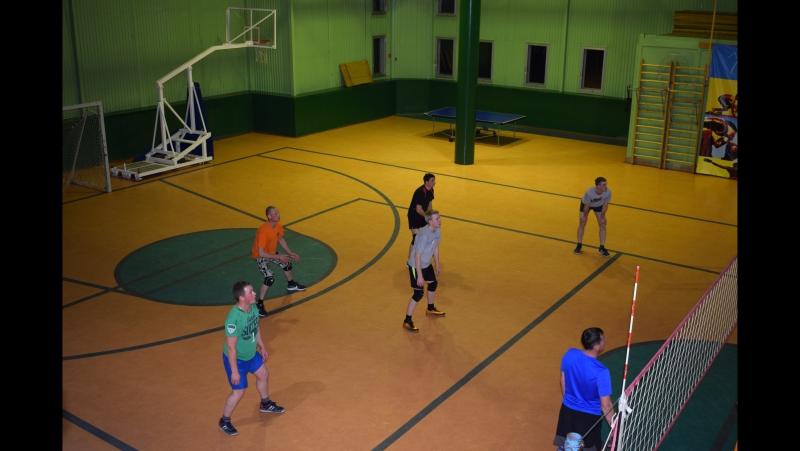 Товарищеская встреча по волейболу Вознесенье - Рыбрека 28.11.17г.