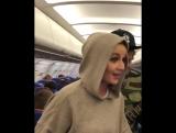 Полина Гагарина устроила «дебош» на борту самолета