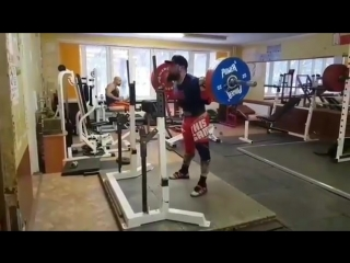 Алексей Никулин - присед 262,5 кг с паузой