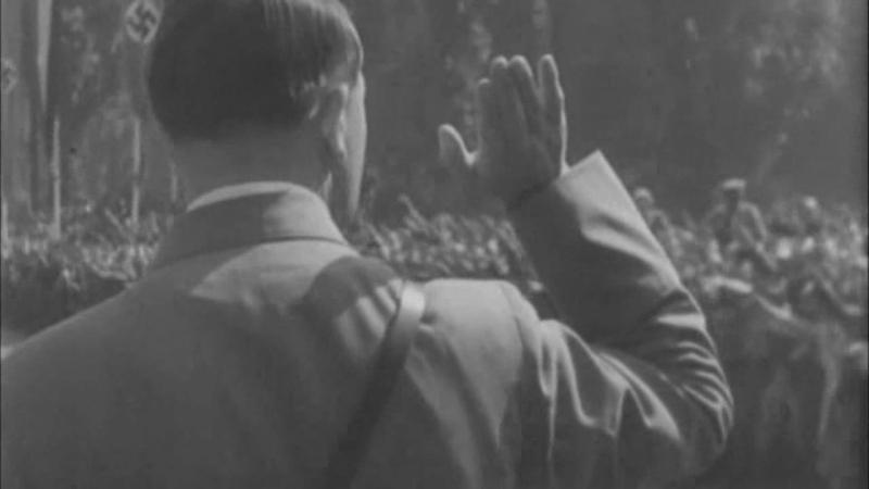Leni Riefenstahl präsentiert: Adolf HITLER fliegt 1934 nach Nürnberg (Reichsparteitag) und wird vom VOLK bejubelt - PHÄNOMEN?