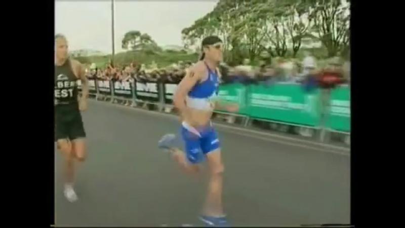 Bevan Docherty - Super-human Triathlon Sprint Finish