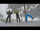 Лыжный поход на Силикатные озера 21 января 2018