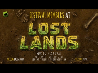 Festival Members @ Lost Lands Music Festival 2017 by Excision