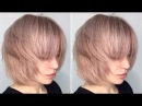 How to cut a Layered Bob - Haircut Tutorial Step by Step - American Salon