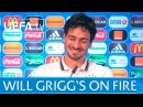 Will Grigg's on fire! Is Mats Hummels terrified?
