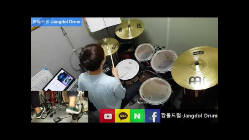 G-DRAGON-개소리 (BULLSHIT) / 짱돌드럼 Jangdol Drum (드럼커버 Drum Cover, 드럼악보 Drum Score)