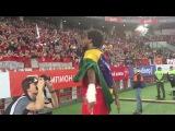 Адриано после победы