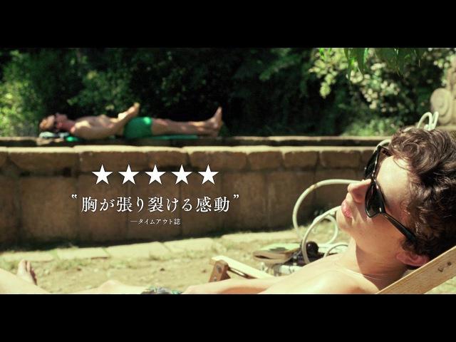映画『君の名前で僕を呼んで』日本語字幕付き海外版オリジナル予告32232