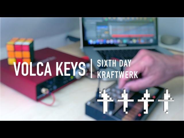 Korg Volca Keys - COOL MIDI PATCH KRAFTWERK DAS MODEL | Focusrite Scarlett 6i6 Ableton Live
