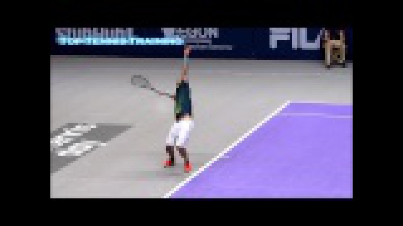 Pete Sampras Serve Full HD Slow Motion