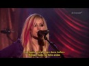 Avril Lavigne - Complicated (Acoustic Live) Legendado em PT/ENG