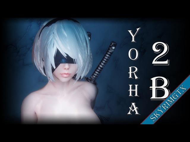 Skyrim: YoRHa 2B Follower 1.06 HDT
