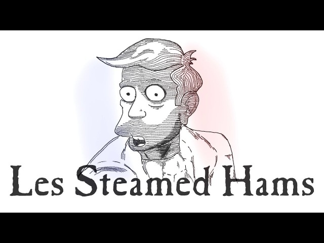 Steamed Hams But It's The Confrontation From Les Misérables