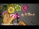 DIY Tutorial Bros dari pita satin ribbon flower tutorial Satin Ribbon Satin Ribbon Flower