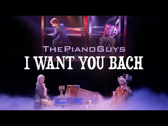 Jackson 5 and Bach were funky way before Bruno Mars' Uptown Funk! -I Want You Bach-The Piano Guys