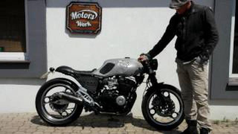 Yamaha XJ 600 cafe racer, built Motors Work Vintage Garage, www.motorswork.pl