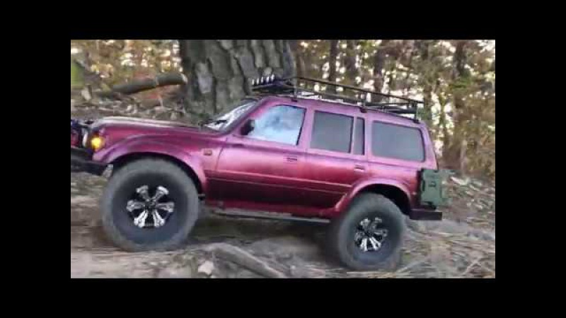 RCModelex MEX | Toyota Land Cruiser 80 (LC80) | Off-Road Trail in Mt.Jakoh 1