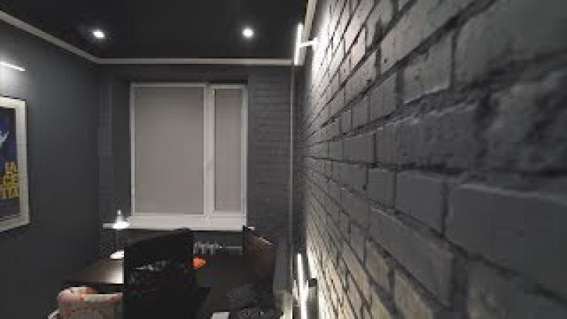 Квартира с кирпичными стенами и мебелью из ИКЕА. Konstartproduction