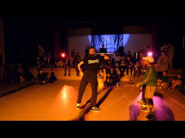 FIRELOCK HIYORI vs OL' LOCO BEST8 LOCK SDCJ 2017 Street Dance Camp Japan