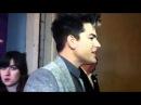 Adam Lambert at FAF party Feb 8, 2013