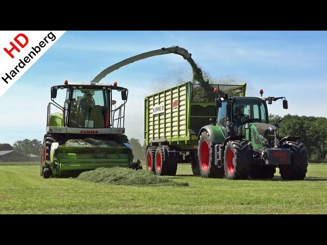 Grass silage   Claas Jaguar 950 Fendt 720 810   Gras hakselen   Leusden   Schimmel B.V.   2017.