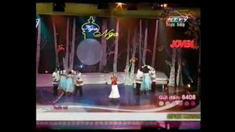 Đoan Trang Điệu Nhảy Trên Trống Bài hát Nga