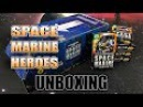 Japanese Exclusive Space Marine Heroes Unboxing Review